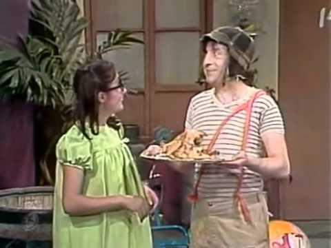 El Chavo del 8 - El Pollo asado de Doña Cleotilde (Capitulo Completo)