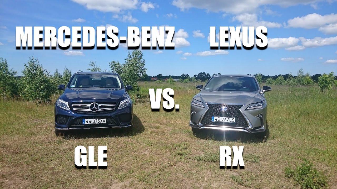 Mercedes GLE 350d kontra Lexus RX 450h PL por³wnanie