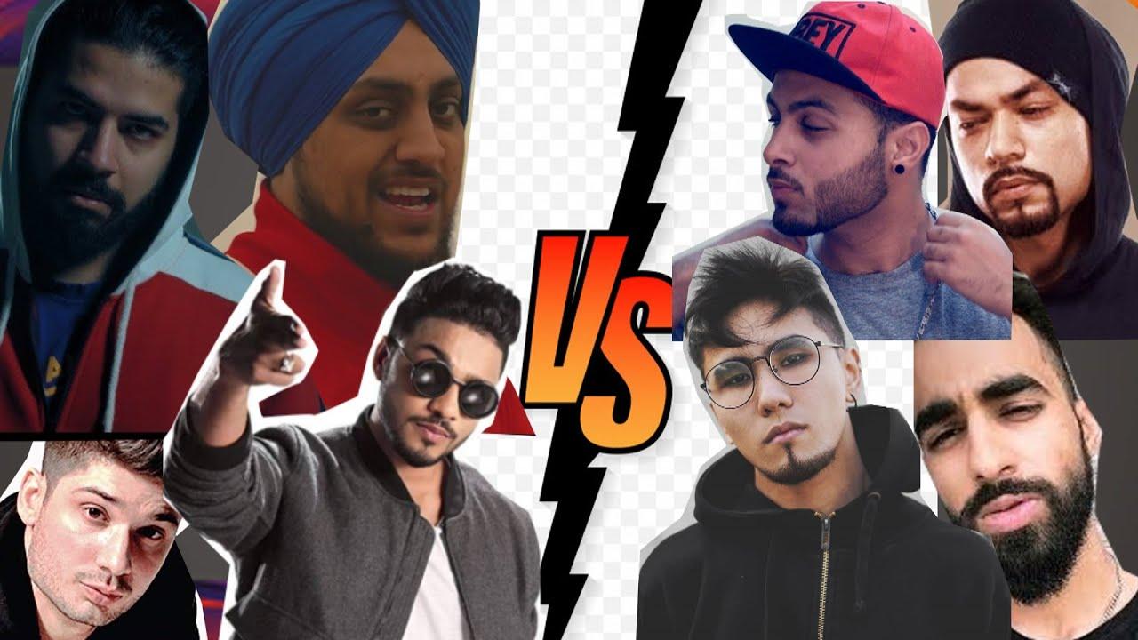 INDIA VS PAKISTAN RAPPERS | RAP BATTLE | 2020