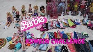 Yazı Tura Barbie Kombin Challenge! Yeni vs Eski Barbie! 30 Saniye Gözü Kapalı Çelınç Bidünya Oyuncak