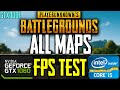 PUBG | [FPS TEST] | First Person | i5-6400 - GTX 1060 6GB