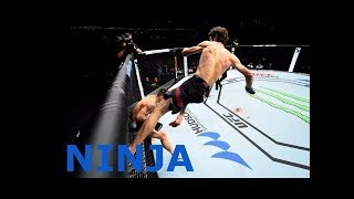 Ninja Style In Mma The Peak