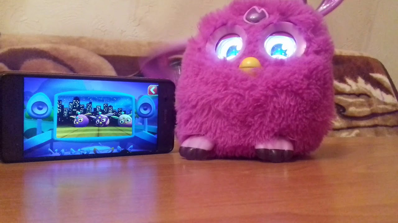 Party Rock Furby Connect  Doo Boo sing
