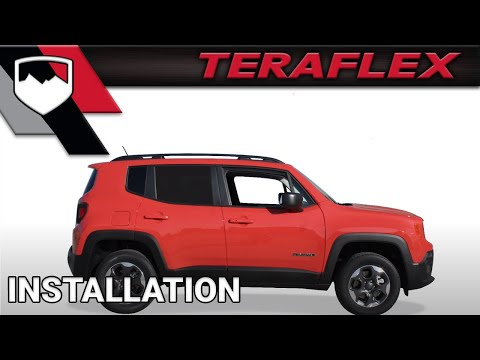 Jeep Renegade Lifted >> Teraflex Install Renegade Compass 1 5 Lift Kit