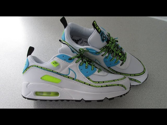 Nike Air Max 90 Special Edition Worldwide 2020 Trainers Shoes ...