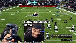 FlightReacts CRIES & Breaks his Controller after his $16,000 MUT 22 Team Gets OUTPLAYED by OLDHEAD😂😭