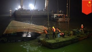 Boat sinks in Yangtze River, more than 20 missing