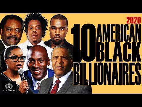 Black Excellist:  Top 10 American Black Billionaires (+ Up&Comings)