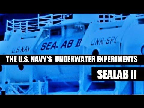 U.S. NAVY'S UNDERWATER MILITARY EXPERIMENTS - SEALAB II (1966)