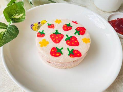 Bánh bông lan vẽ hình dễ thương | Foci