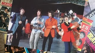♫ The Beatles filming the 'Your Mother Should Know' sequence