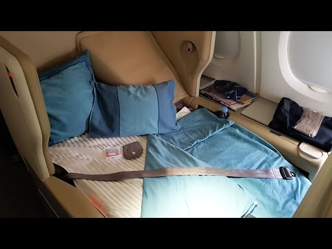Singapore Airlines Business Class A380: SQ Part 3
