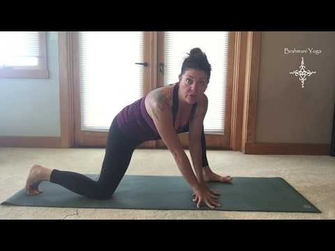 Low Lunge - Brahmani Yoga perspective
