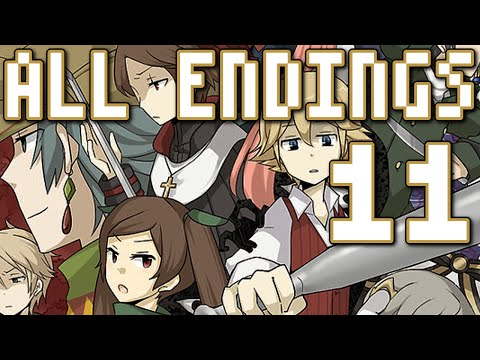 End Roll - ALL ENDINGS (Day 7), Manly Let's Play Pt.11