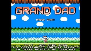 Grand Dad Reboot (PC) Game Clear w/ Cutscenes, Extra Mode & Tutorial Level~