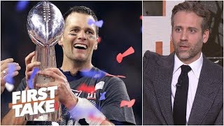 Max Kellerman admits Tom Brady is the greatest NFL player ever | First Take