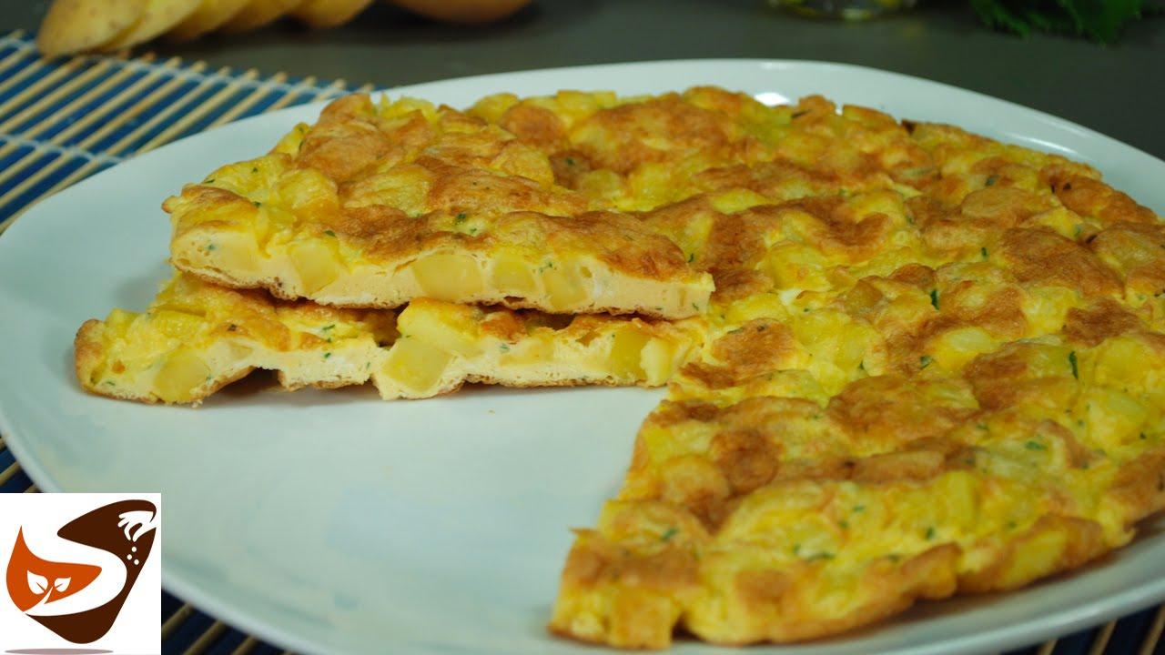 Ricetta frittata di patate in padella e al forno for Ricette veloci secondi piatti