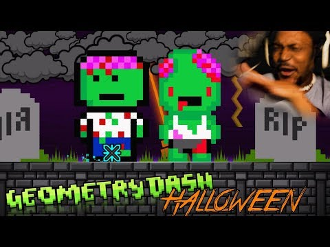 HALLOWEEN LEVELS. | Geometry Dash #23 (Halloween Special 2017)