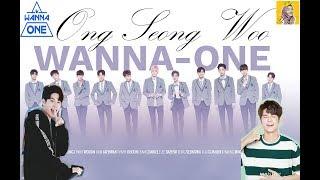 Gambar cover Ong seong Woo Wannaone (Produce 101season 2 introduced)