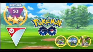 ALOLAN MUK IS AMAZING IN ULTRA LEAGUE | Pokemon Go Battle League PvP Battles