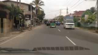 A Drive along Lewis Place - Negombo, Sri Lanka Nov. 2013