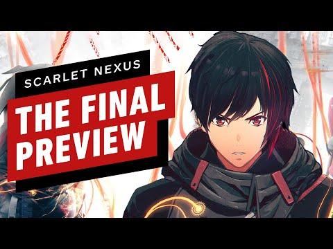 Scarlet Nexus – The Final Preview