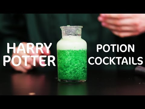 Halloween Party Cocktails (Harry Potter - Savory Stories After Dark Ep. 14)