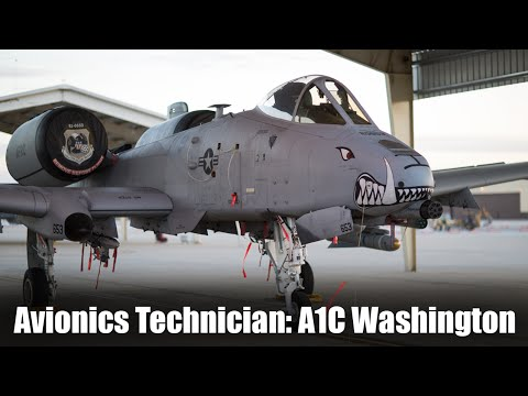Avionics Technician: A1C Washington