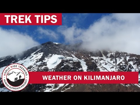 Weather on Kilimanjaro | Trek Tips