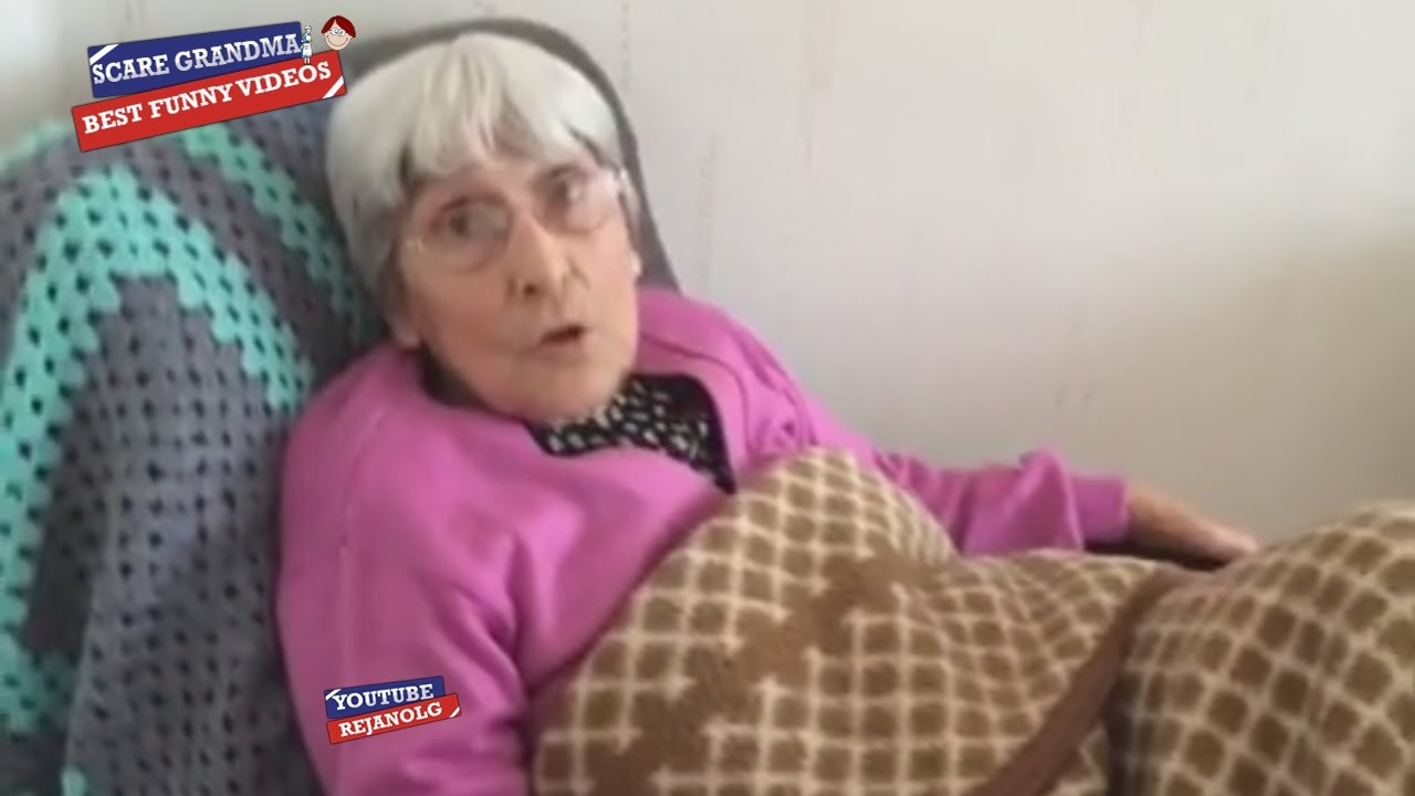scare cam grandma compilation 2016 - best funny videos - youtube