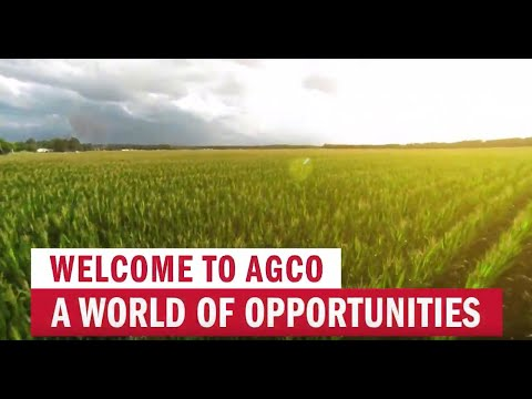 Welcome To AGCO – A World Of Opportunities