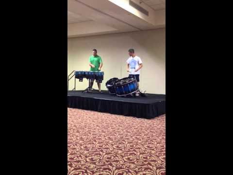 White Sabers 2014 - I&E Percussion Duet