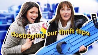Extreme thrift store challenge: winter edition