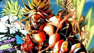 FREE CHRONO CRYSTALS! Level 3400 Legendary Super Saiyan Broly in Dragon Ball Legends
