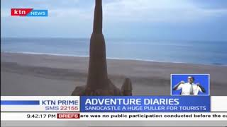 Sand castles attracting tourists at Diani beach | ADVENTURE DIARIES