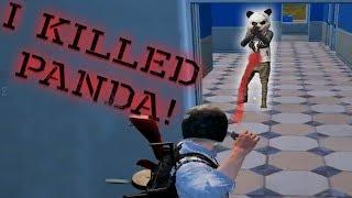 I killed panda and won the game!   PUBG-Mobile