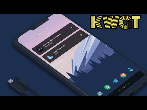 TOP FREE WIDGET APPS FOR KWGT FOR ANDROID SETUPS| 2019