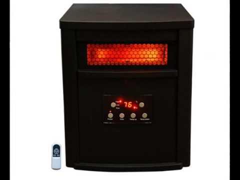 Lifesmart Life Pro Large Room 6 Element Infrared Heater - YouTube