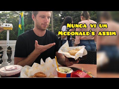 COISAS que SÓ EXISTEM no Monald&39;s no Brasil Méqui 1000