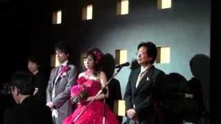 結婚式の挨拶 新郎の父 天国のママへ 尾茂弥 家