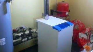 Отопление видео №1  Газовый напольный котел Термона, Система отопления, Топочная, Обвязка котла(, 2016-01-24T13:40:53.000Z)