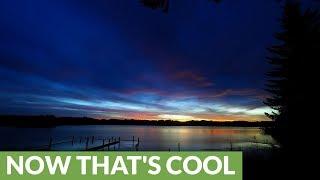 Time lapse captures unreal sunrise over Oregon lake