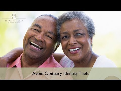 Avoid Obituary Identity Theft - Protect Your Family