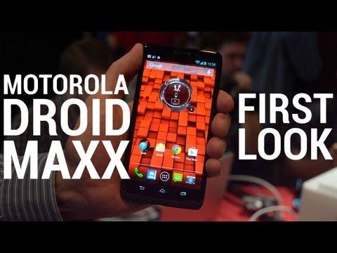 Motorola Droid MAXX - First Look!
