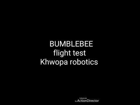 Racing drone flight test by students of Khwopa Engineering College