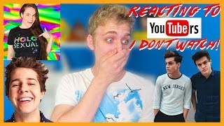 vermillionvocalists.com - Reacting To YouTubers I Don't Watch!