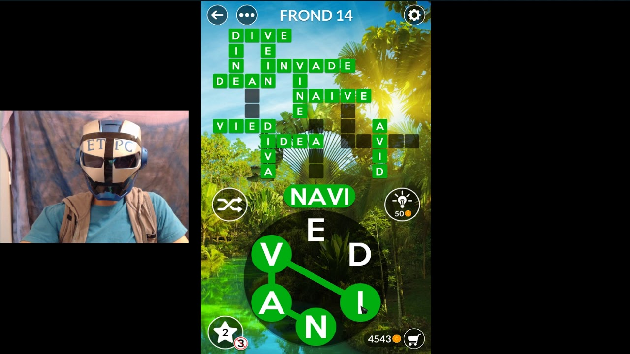 Wordscapes Rainforest Frond 4 Answers By Etpc Epic Time Pass Channel