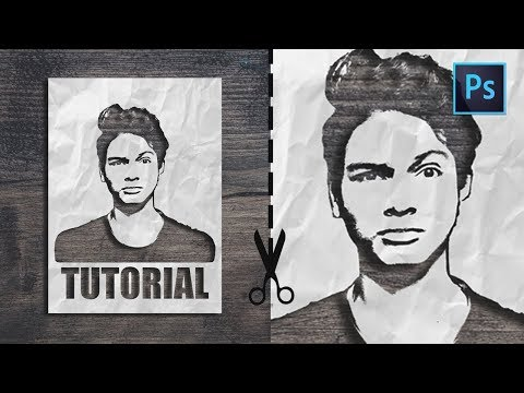 [ Photoshop Tutorial ] How to Make a PAPER CUT OUT effect from Photos thumbnail