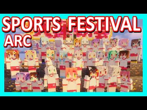 【Hololive】Sports Festival Arc【Minecraft】【Eng Sub】