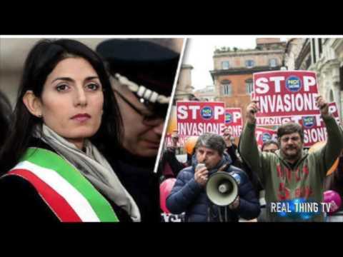 Rome on verge of WAR between migrants and poor Italians